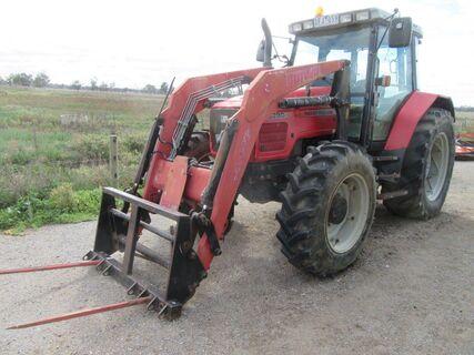 2009 MF6290 MFWD tractor
