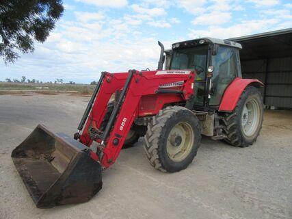 2007 MF5465 Dyna MFWD tractor