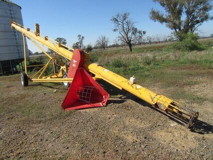 """2012 Keogh Hawkflo 45' x 9"""" auger"""