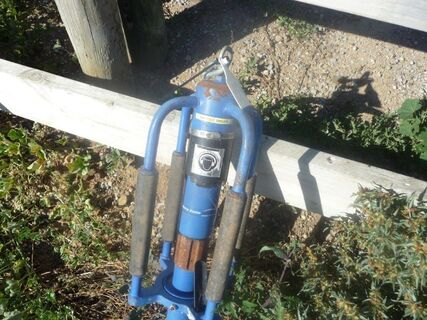 Millers Fall pneumatic post driver