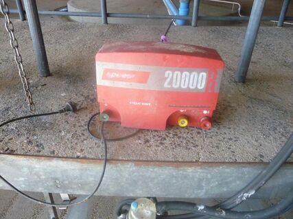 Speedrite 20000 240V fence energiser