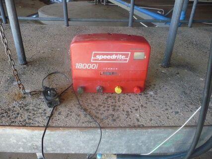 Speedrite 18000 240V fence energiser