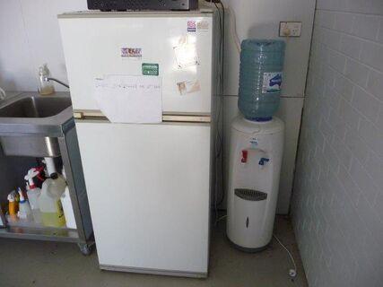 Frigidaire refrigerator/freezer, Aqua water cooler