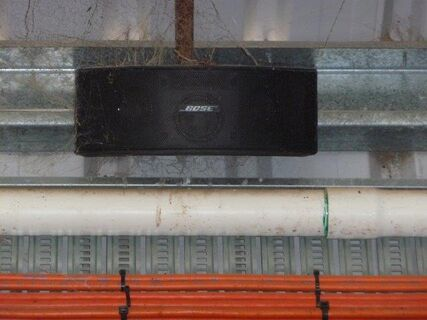 BOSE sound system and speakers