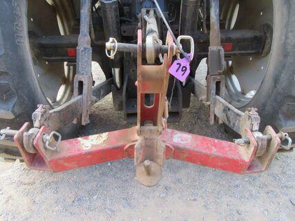 3PL quick hitch trailer coupler
