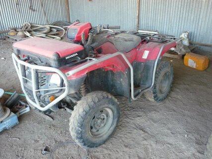 2015 Honda 500 4WD ATV (not going)