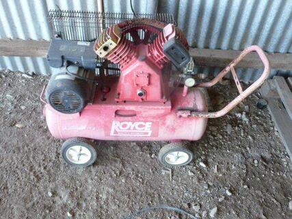 Royce electric air compressor