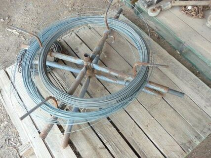 Wire spinner & roll of wire