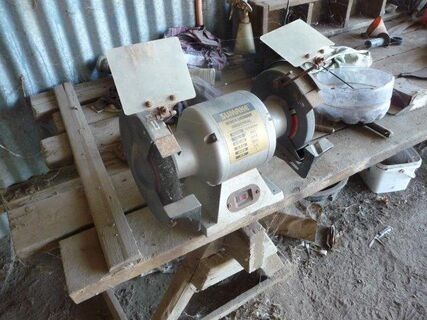 Sumake bench grinder