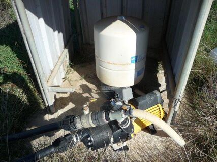 """Davey 2"""" effluent pump"""