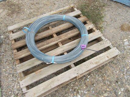 Steel posts, roll of Waratah fencing wire