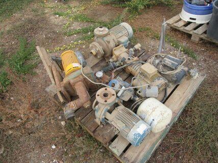 Electric pump motors, not going