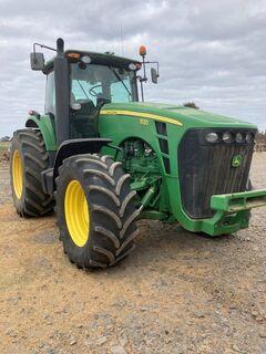 2008 JD 8130 FWA tractor