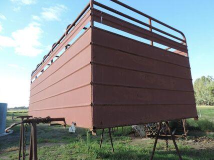 Cattle truck Crate