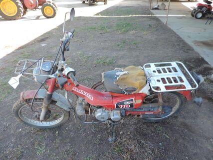 CT 110 Honda Postiebike