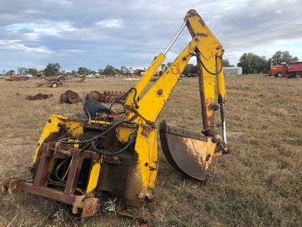 3 P/L JD Backhoe