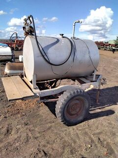 fuel trailer with electric pump