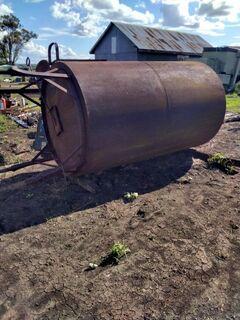 2000 Gallon steel tank