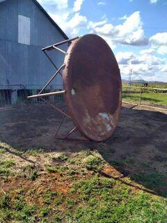 8 ft silo base