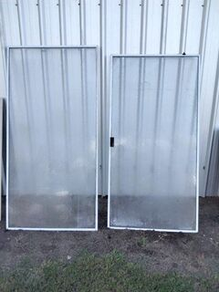 Shower and door screen