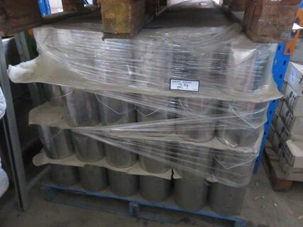 Approx 700 litres x 750 ml cans interior/exterior wood coating