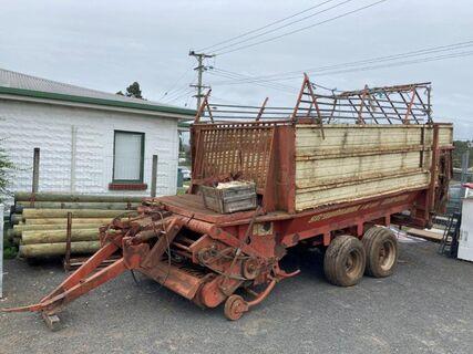 Strautmann LBF800 Lode Blitz 5700kg self loading wagon