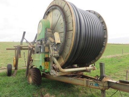 2013 Bauer Rainstar E21 110/420 hard hose irrigator