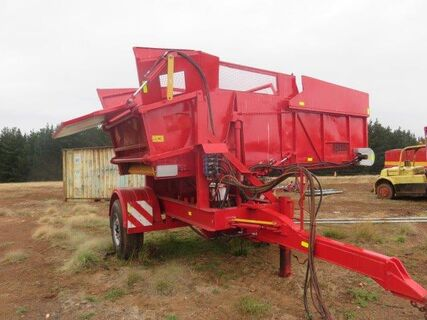 Potato/onion field bunker trailer, 5 tonne cap