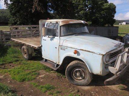 International C1600 6 Cylinder Petrol 4WD truck