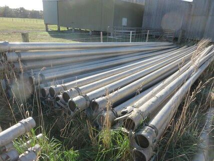 60 x 5' x 9m Southern Cross Irrigation pipes