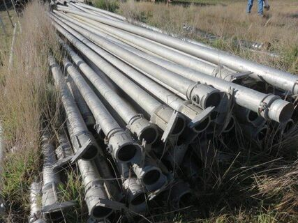 50 x 4' x 9m Southern Cross Irrigation Pipes