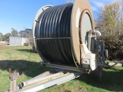 1999 Trailco TP100/400 hard hose irrigator with Irrigamatic 200 computer