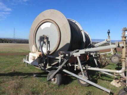 1996 Trailco TP100/400 hard hose irrigator