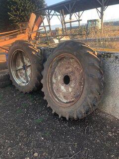 12.4 - 36 tyres & rims