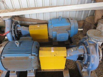 45kw & 125x400x380 Electric Pump Sets