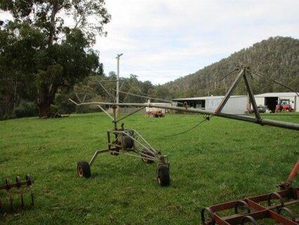 Vaughn 10m travelling pasture-effulent irrigator