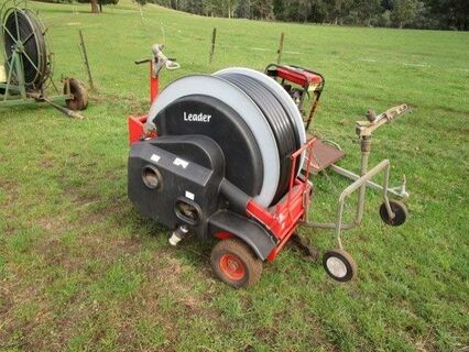 Leader 120m irrigator with pump