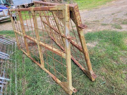 H/Duty Steel Front Gates