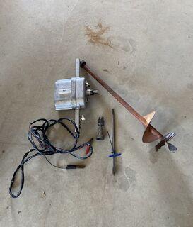 12V Auger/2 speed drill