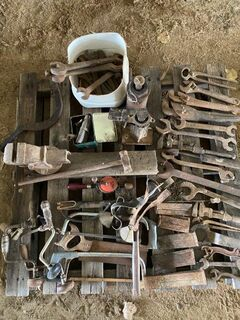 Assorted old tools