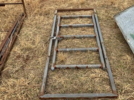 Cattle yard access gate