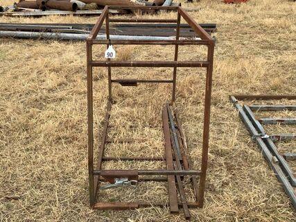 Dog box frame, unfinished
