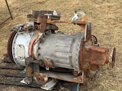 Heavy duty Allison 4 speed gear box