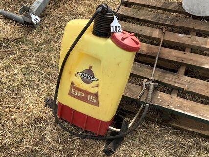 Hardi BP15 backpack sprayer