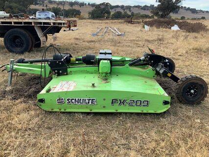Schulte FX 209 trailing slasher