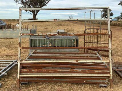 10 x cattle yard panels