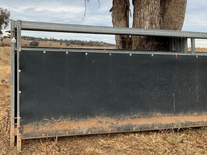 Horse yard panels