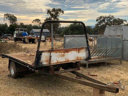 Steel farm trailer