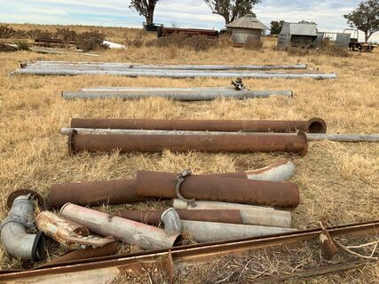 8 inch pipe (various lengths)