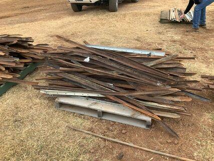 Used steel posts